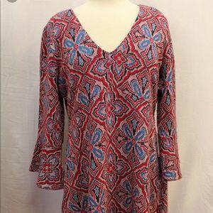 Anthropologie Dresses - Anthropolgie Maeve bell sleeve dress